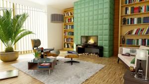 ordentliches Wohnzimmer